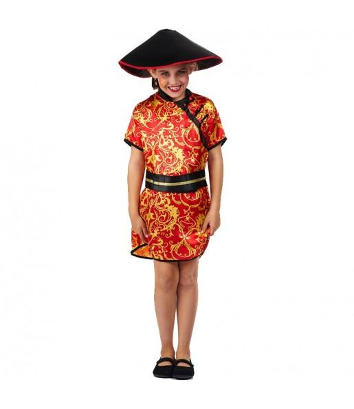 Déguisement Chinoise Grand Dragon pour fille