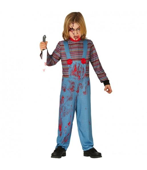 Déguisement Chucky la poupée sanglante garçon
