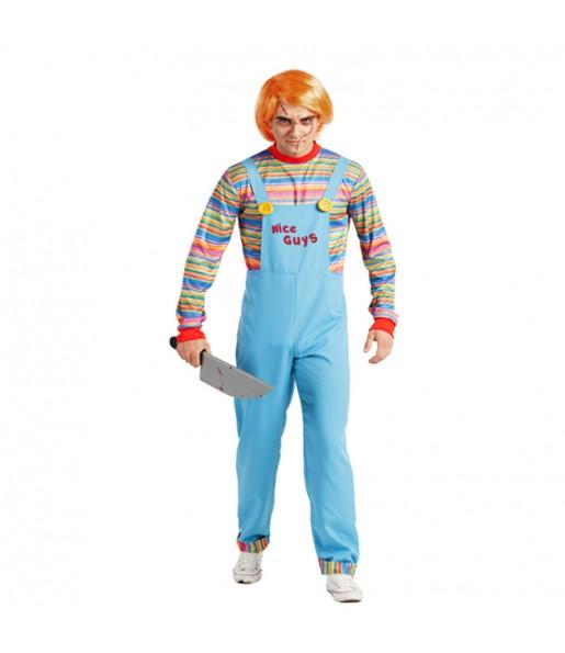 Déguisement Chucky la Poupée de Sang adulte