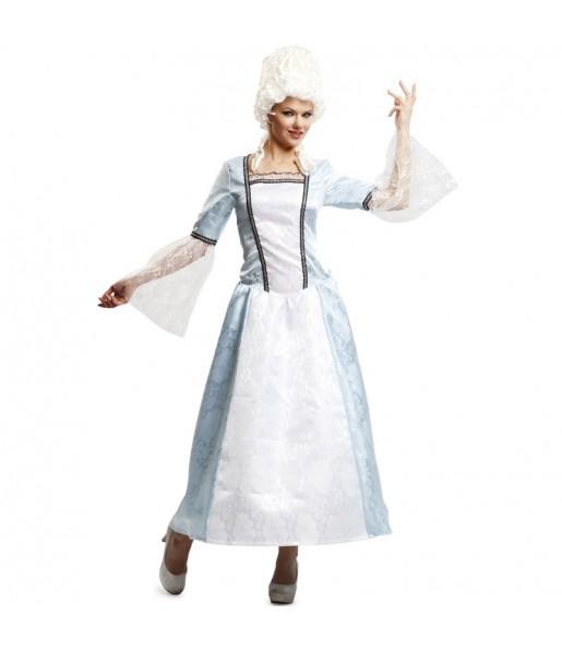 Disfraz de Dama de Época Versalles Adulto