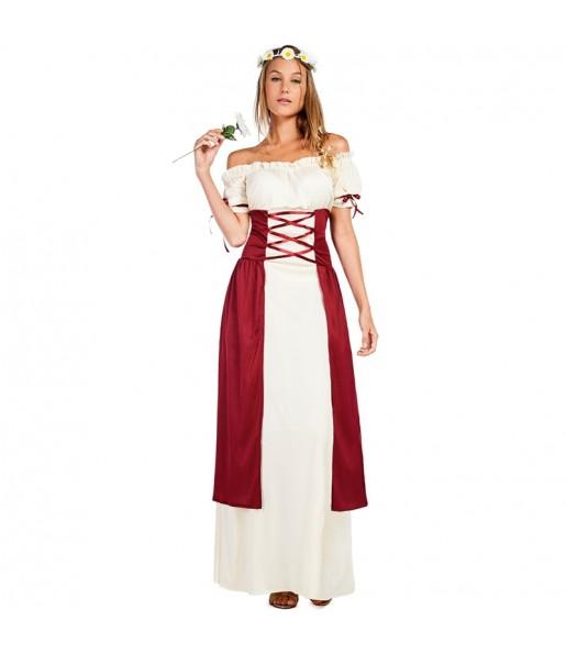 Déguisement Dame Médiévale Guillemette femme