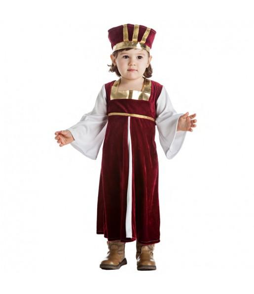 Déguisement Dame Médiévale pour bébé