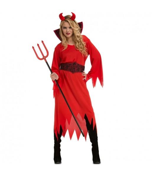 Déguisement Diablesse des Enfers femme