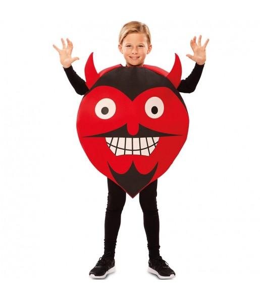 Déguisement Diable Émoticône enfant