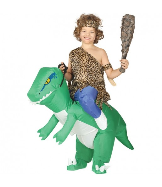 Déguisement Porte Moi Dinosaure Gonflable enfant