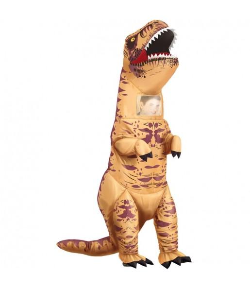 Déguisement Tyrannosaure T-Rex gonflable adulte