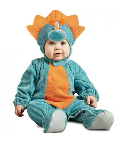 Déguisement Dinosaure Triceratops bébé
