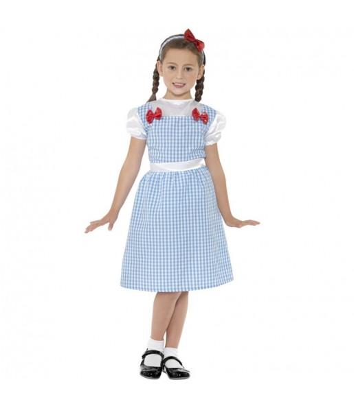 Déguisement Dorothy Magicien d'Oz fille