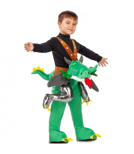 Déguisement Porte Moi Dragon garçon
