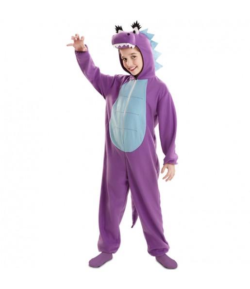 Déguisement Dragon violet fille