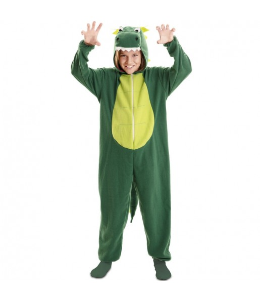 Déguisement Dragon Vert garçon