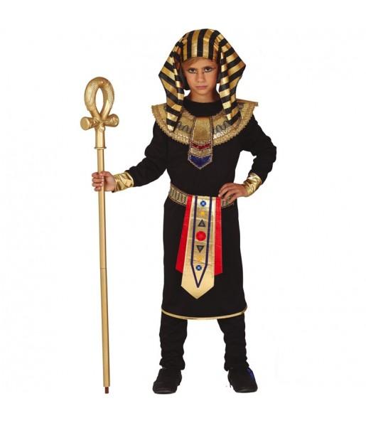 Déguisement Egyptien noir garçon