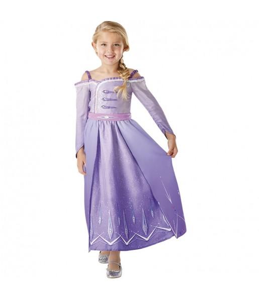 Déguisement Elsa Frozen 2 Prologue fille