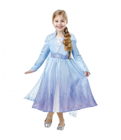 Déguisement Elsa Frozen 2 Deluxe fille