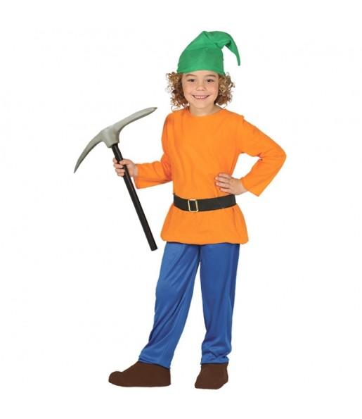 Déguisement Nain Orange