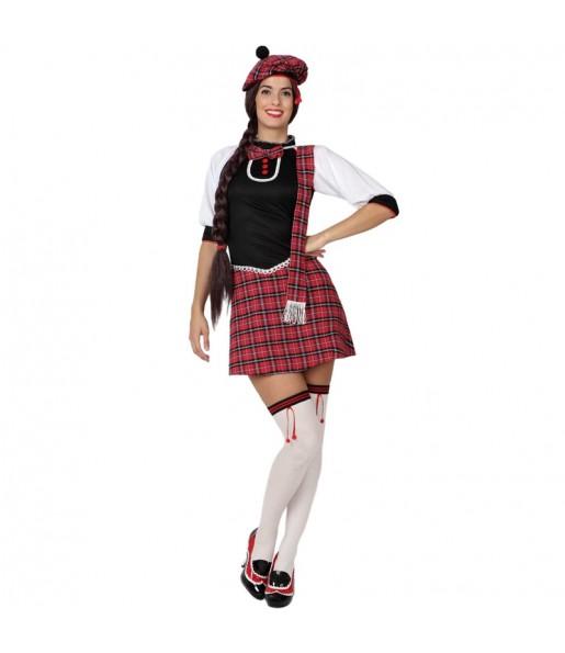 Déguisement Écossaise