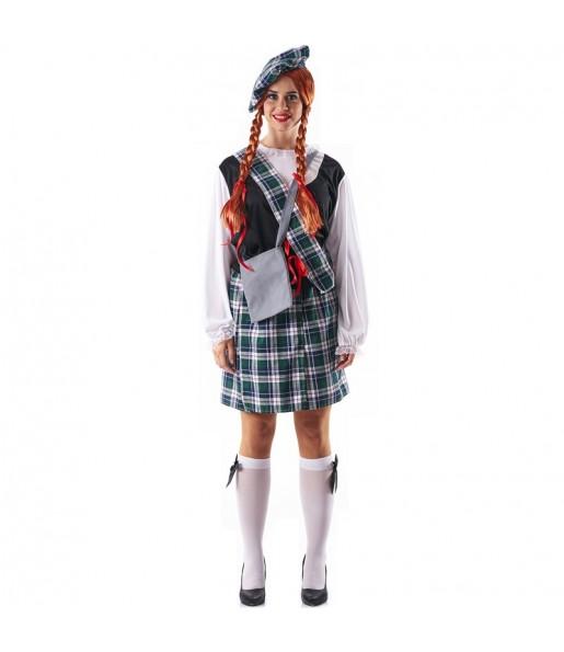 Déguisement Écossaise Celte pour femme