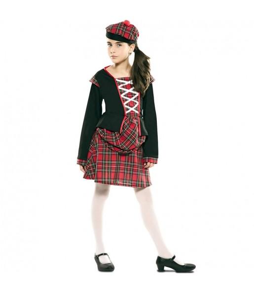 Déguisement Écossaise classique pour fille