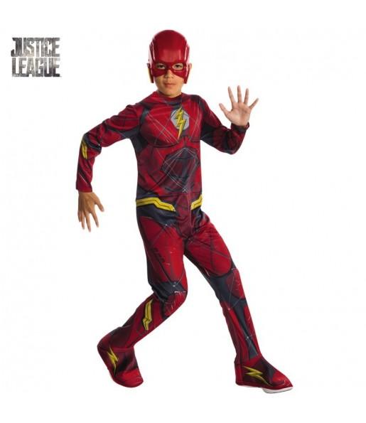 Déguisement Flash Ligue de Justice Amérique enfant