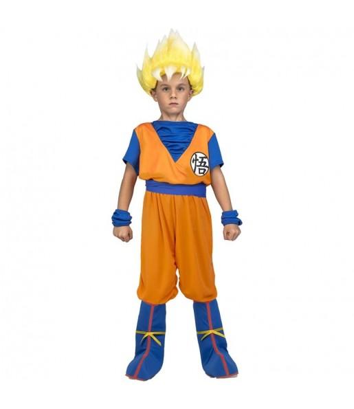 Déguisement Goku Super Saiyan Dragon Ball enfant