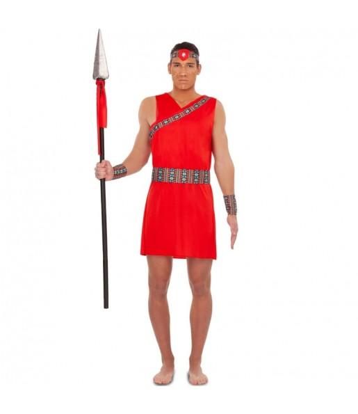 Déguisement Guerrier Tribu Maasaï homme