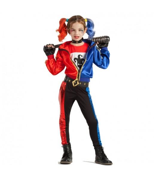 Déguisement Harley Quinn fille