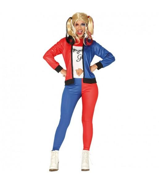 Déguisement Harley Quinn Super-vilaine femme