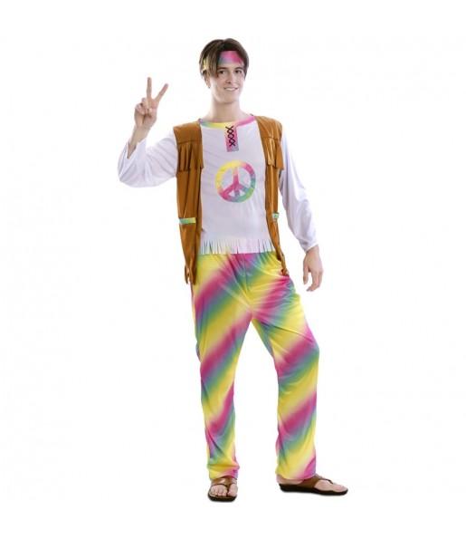 Déguisement Hippie Rainbow homme