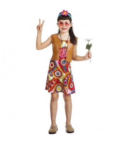Déguisement Hippie Happy fille