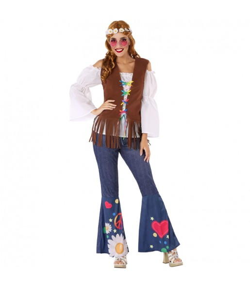 Déguisement Hippie Sixties femme