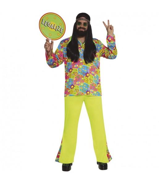 Déguisement Hippie Fleurs pour homme