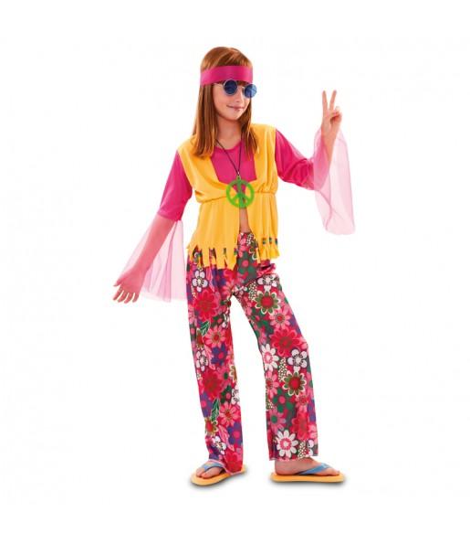 Déguisement Hippie Pacifique fille