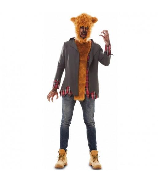 Déguisement Loup-garou féroce homme