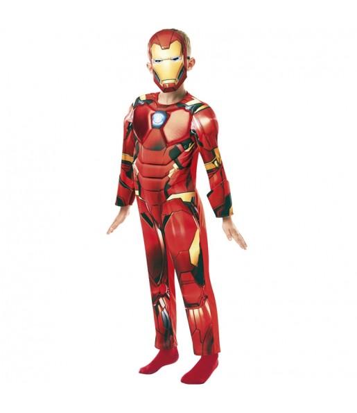 Déguisement Iron Man Deluxe garçon