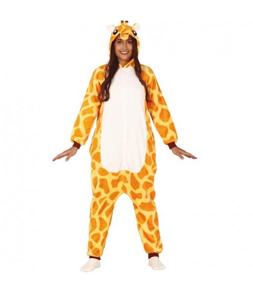 Déguisement Girafe Africaine Kigurumi adulte