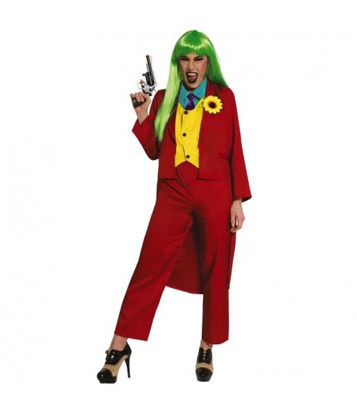Déguisement Joker Joaquin Phoenix femme
