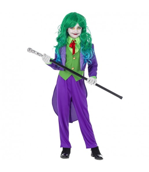 Déguisement Joker Super-vilaine fille