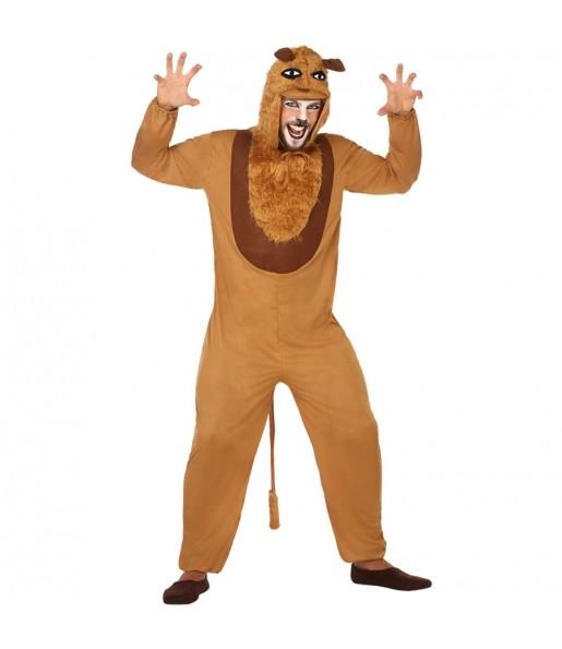 Déguisement Lion Jungle adulte