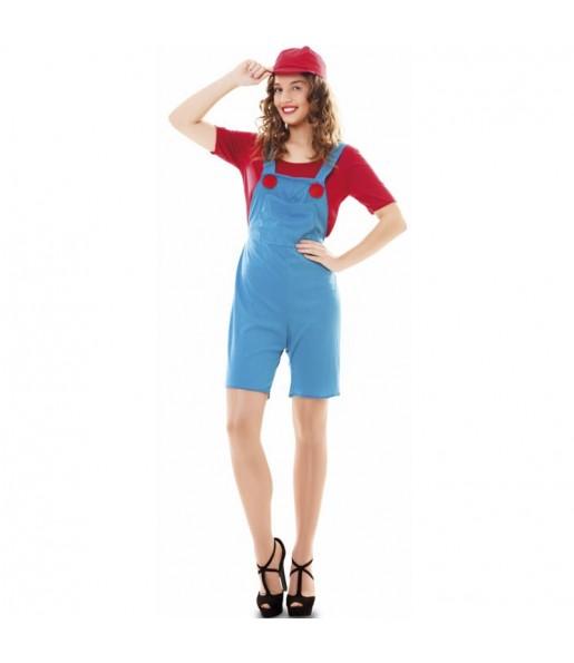 Déguisement Super Mario femme