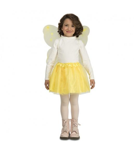 Déguisement Papillon Jaune pour fille