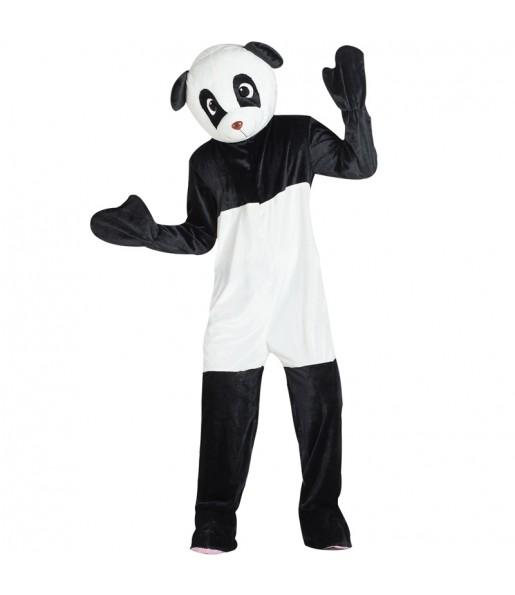 Déguisement Mascotte Ours panda adulte
