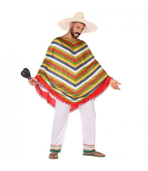 Déguisement Méxicain Multicolore homme