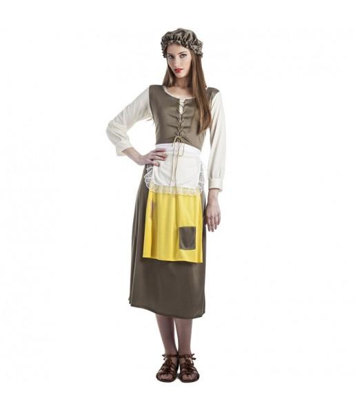 Déguisement Mendiante médiévale femme