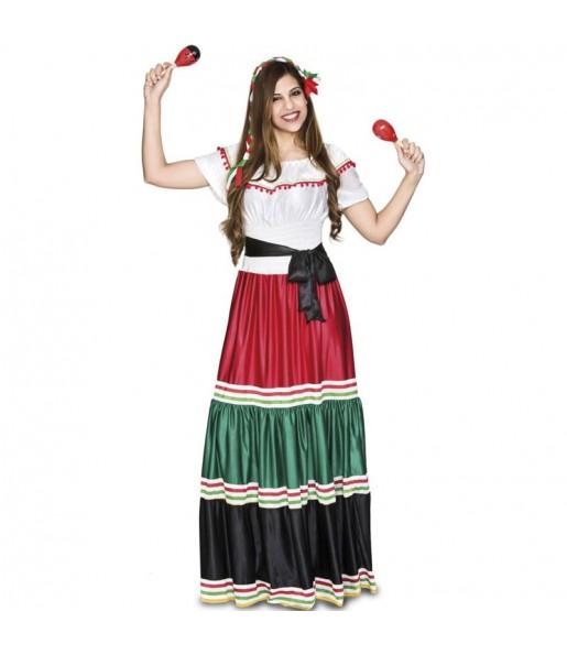 Déguisement Mexicaine traditionnelle femme