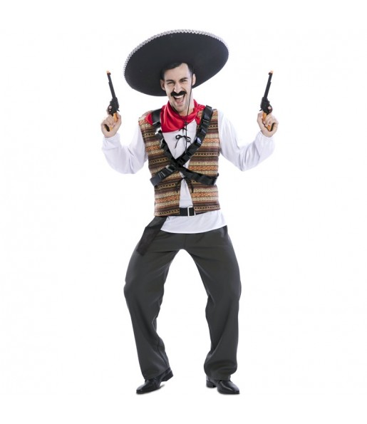 Déguisement Mexicain Bandit homme