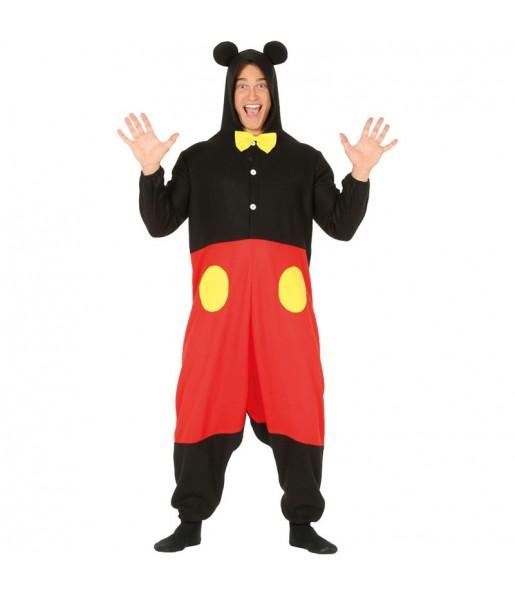Déguisement Mickey Mouse Kigurumi homme