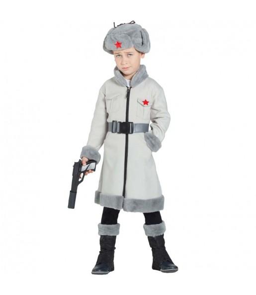 Déguisement Russe Soviétique Soldat garçon