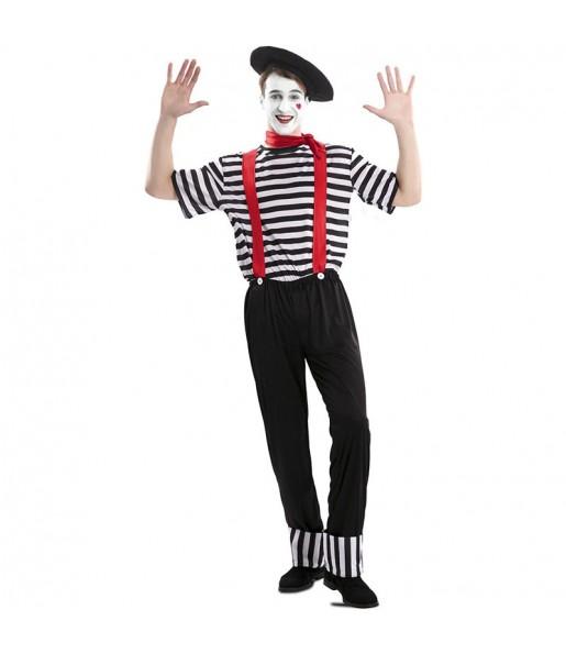Déguisement Mime Cirque homme