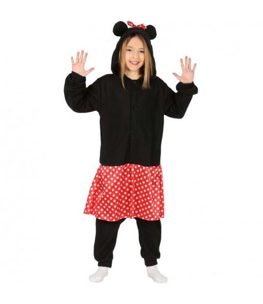 Déguisement Minnie Mouse Kigurumi fille