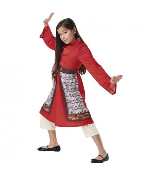Déguisement Mulan Live Action fille